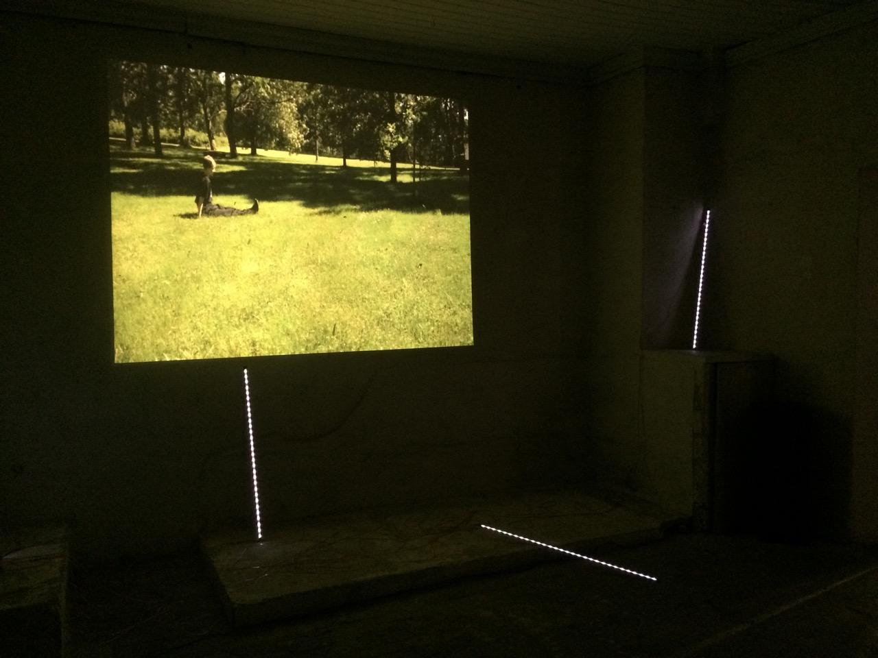 Audiovisual installation art piece based on wearable sensor data ...