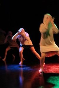 Picture of a theater performance by Janne Särkelä