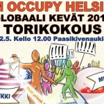 <!--:en-->Poster art for a global grassroots activist event<!--:--><!--:fi-->Julistetaidetta kansainväliseen 12M toimintapäivään<!--:-->